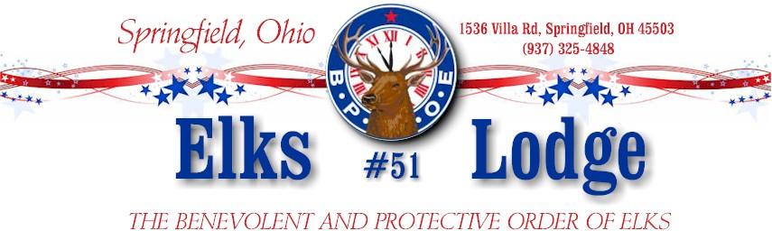 Springfield Ohio Elks Lodge 51 Restaurant